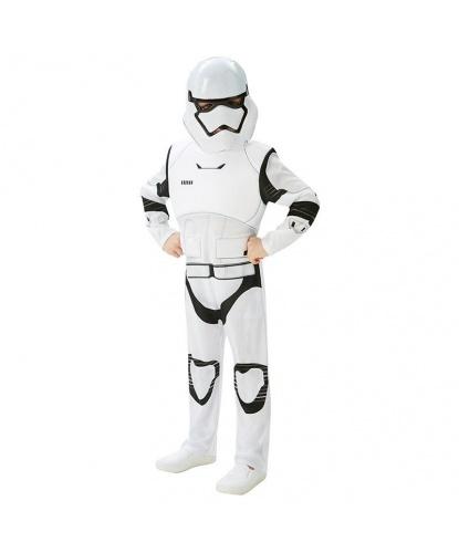 Костюм штурмовика детский (Stormtrooper) Deluxe: маска, комбинезон (Германия)