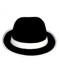 Черная шляпа мафиози