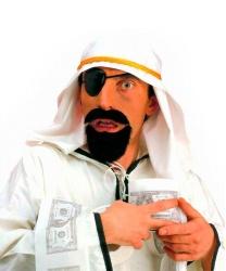 Головной убор, наглазник и борода шейха