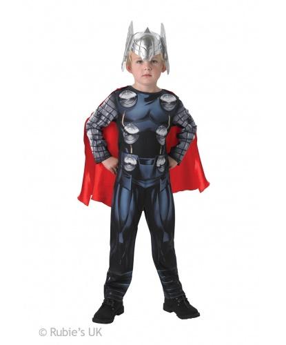 Детский костюм Тора: комбинезон, накидка, маска (Германия)