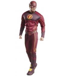 Взрослый костюм Flash