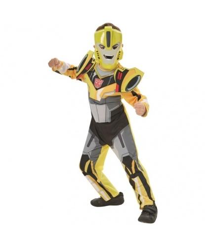 Детский костюм Бамблби (Bumblebee): комбинезон, маска (Германия)