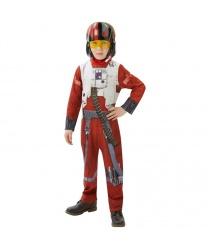 Костюм пилота X-wing для мальчика: комбинезон, маска (Германия)
