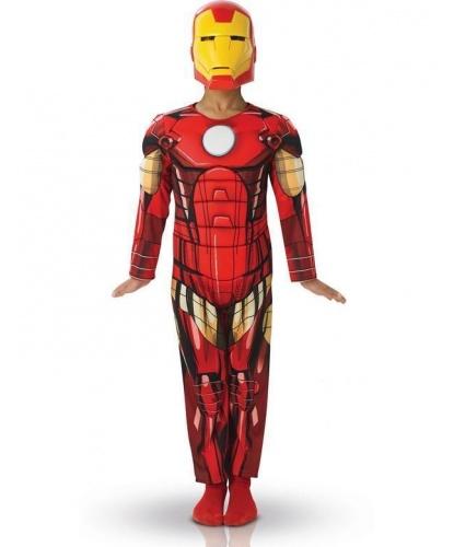 Детский костюм Железного человека: комбинезон, маска (Германия)
