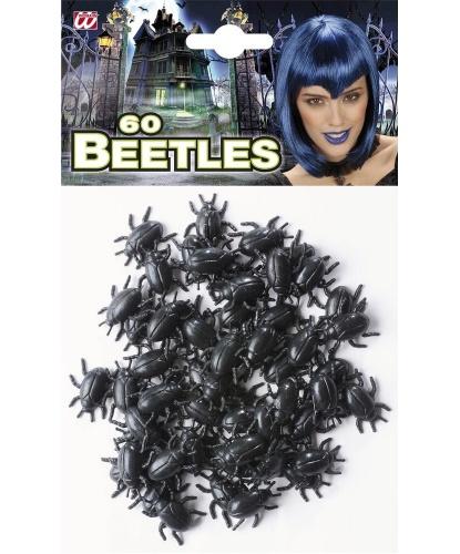 Набор пластиковых жуков