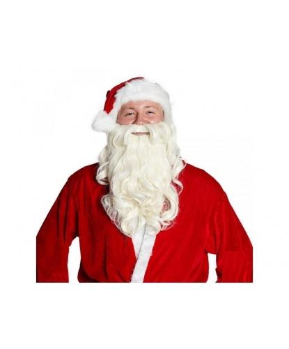 Борода Деда Мороза на резинке  (Германия)