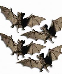 Пластиковые летучие мыши (4 шт)