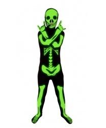 Детский морф-костюм скелета