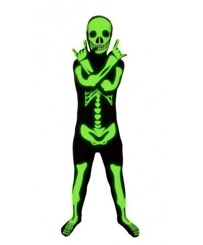 Детский морф-костюм скелета (Великобритания)