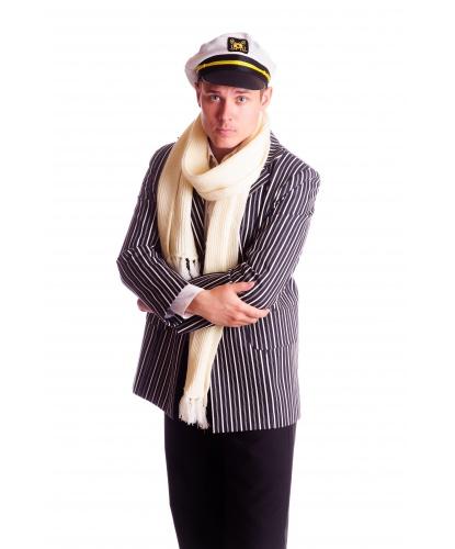 Костюм Остапа Бендера: пиджак, кепка, шарф (Украина)
