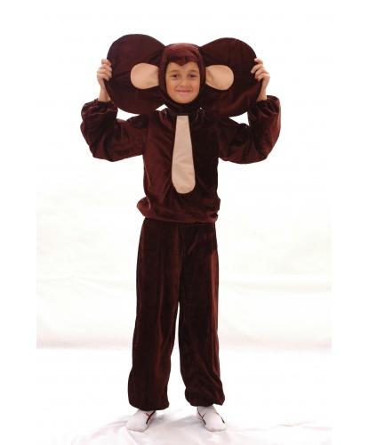 Костюм Чебурашки: шапочка с ушами, кофта, брюки (Украина)