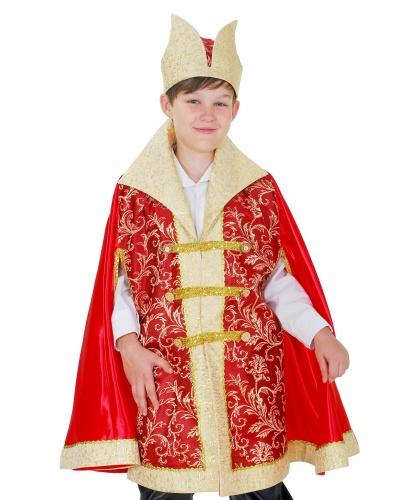 Детский костюм царевича: плащ, шапка (Украина)
