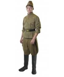 Костюм солдата на взрослого