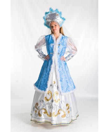 Костюм Зимы: кафтан, юбка, кокошник (Украина)