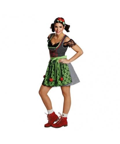 Платье Веселой Баварки: Платье, Блузка, фартук (Германия)
