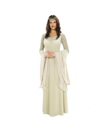 Светлое Платье Арвен Ундомиэль: Платье, Диадема (Германия)