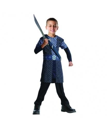 Детский костюм Торина Дубощита: Туника, пояс, штаны, меч (Германия)