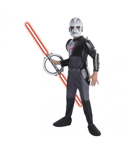 Детский костюм Инквизитора: комбинезон, маска (Германия)