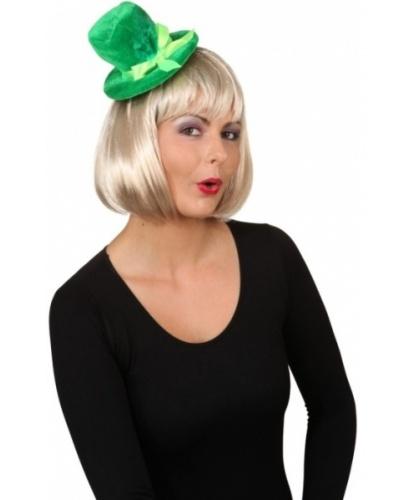 Зеленая шляпка на обруче (Германия)
