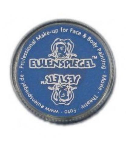 Масляный театральный грим синий, шайба 12 мл/14 гр (Германия)