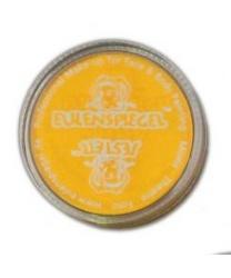Жёлтый крем-грим