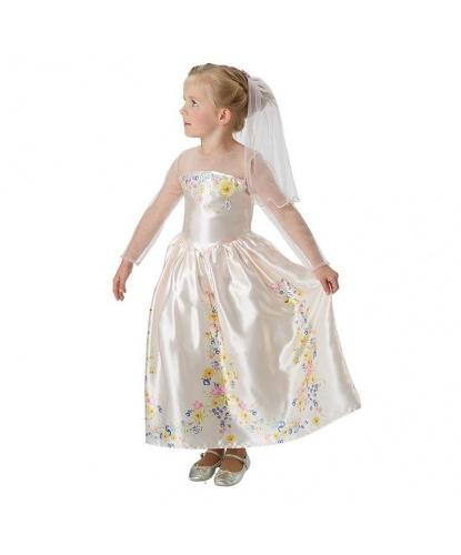Свадебное платье Золушки: платье, фата (Германия)