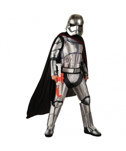 Костюм капитана Фазмы (Captain Phasma): комбинезон, шлем (Германия)