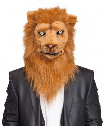 Реалистичная маска льва