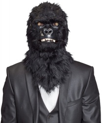 Реалистичная маска гориллы