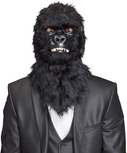 Реалистичная маска гориллы , пластик, искуственный мех (Германия)