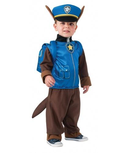 Костюм Гонщика Чейза (Щенячий патруль): комбинезон, фуражка, рюкзак  (Германия)
