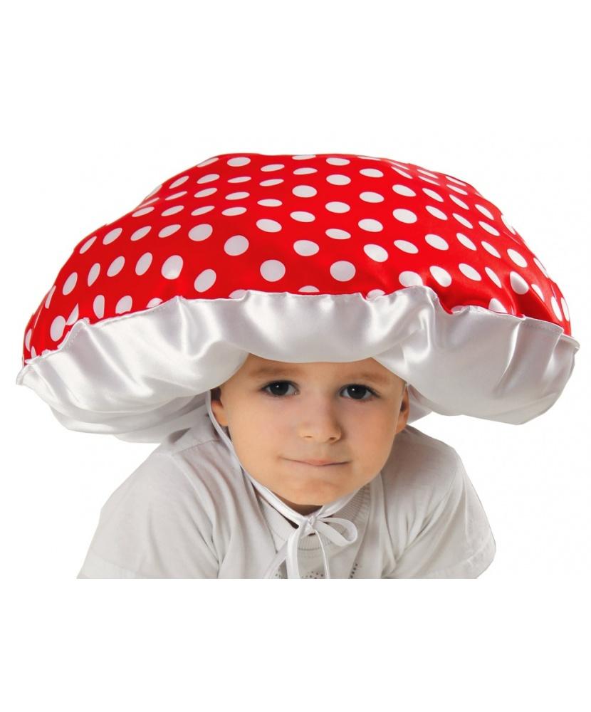 Шляпа гриба своими руками из бумаги для ребенка в детский
