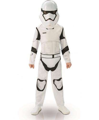 Костюм штурмовика детский (Stormtrooper) Classic: маска, комбинезон (Германия)