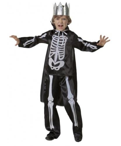 Детский костюм Кащей Бессмертный: куртка, брюки, плащ, корона (Россия)