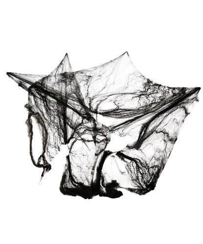 Искусственная паутина 8 м2, цвет черный (Германия)