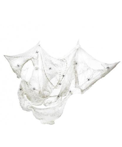 Искусственная паутина 8 м2, цвет белый (Германия)