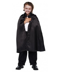 Детский плащ на Хэллоуин из сатина