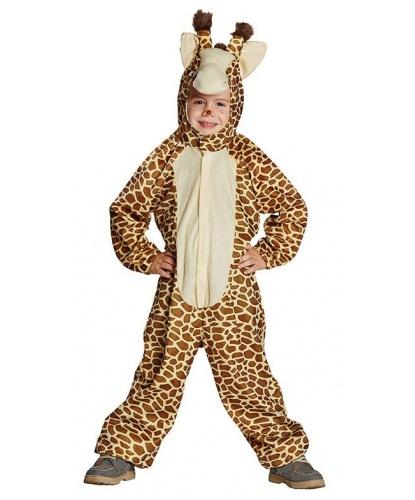 Детский костюм жирафа: комбинезон с капюшоном (Германия)