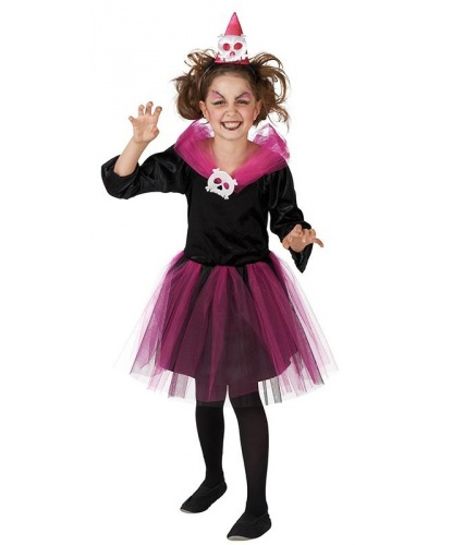 Детский костюм ужасной ведьмочки: платье, шляпка (Германия)