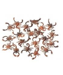 Скорпионы из латекса, 5 см.