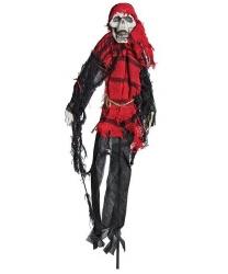"""Декорация на палочке """"Скелет-пират"""", 50 см."""