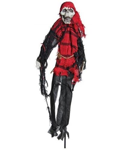 Декорация на палочке Скелет-пират, 50 см.