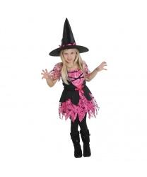Розовый костюм маленькой ведьмочки