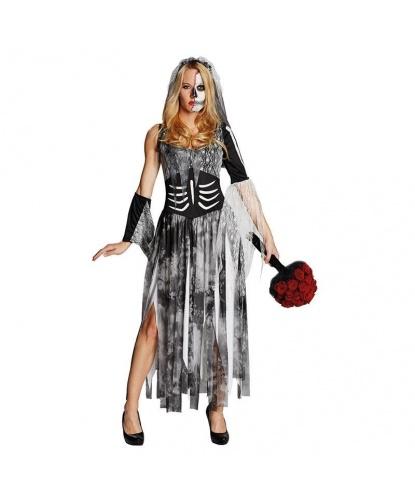 Платье зомби-невесты : платье, фата, нарукавник (Германия)