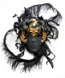 Венецианская маска Volto Dark