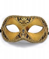Мужская венецианская маска, папье-маше (Италия)