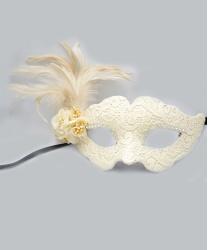 Венецианская белая маска