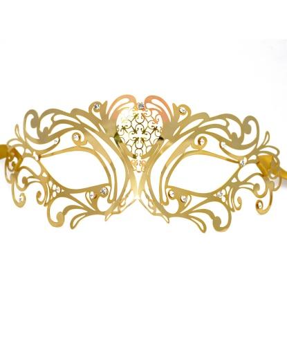 Венецианская золотая маска, металл (Италия)