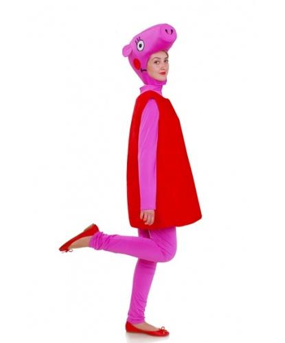 Костюм свинки Пэппы: комбинезон, платье, головной убор (Украина)