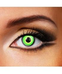 Линзы Glamour green